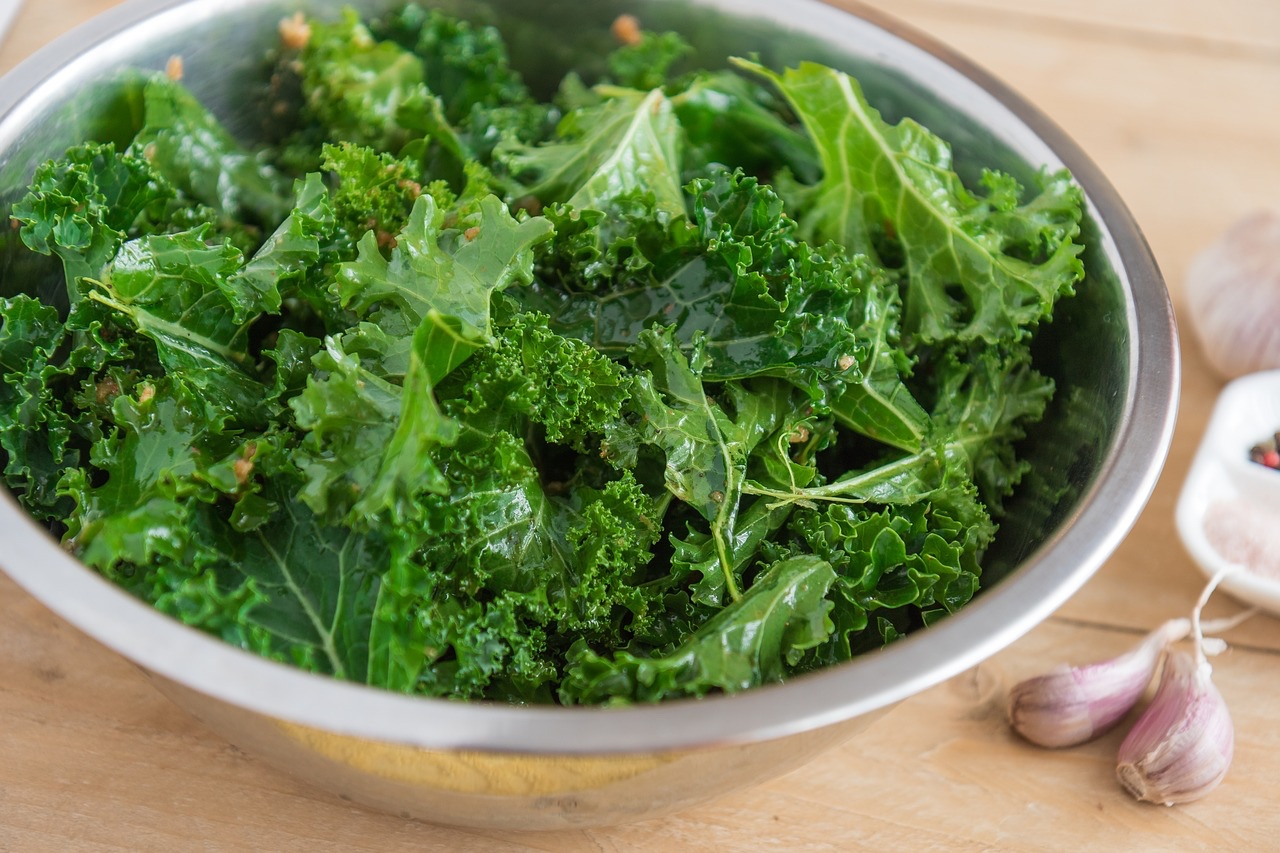 macerated kale salad with lime dressing recipe