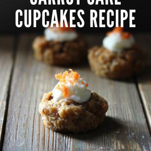 mini carrot cake cupcakes recipe pop shop america