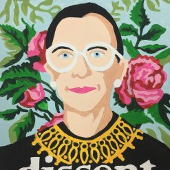 Paint by Numbers with Ruth Bader Ginsburg Pop Shop America