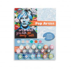 andy warhol paint by numbers for adults pop shop america