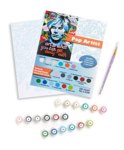 andy warhol paint by numbers set pop shop america