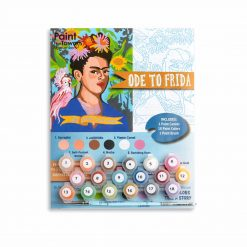 frida kahlo paint by numbers for adults