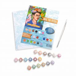 frida kahlo paint by numbers kit