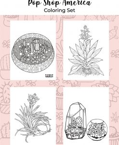 get a free adult coloring page set for free pop shop america