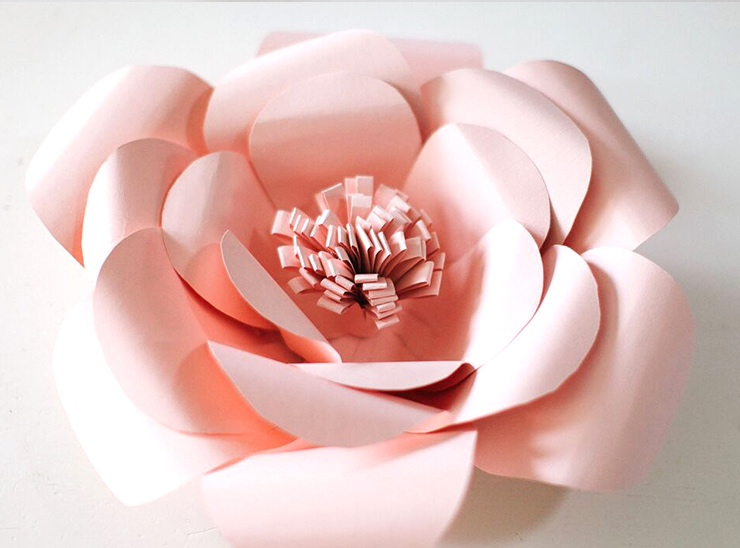 giant paper flowers tutorial sits girls