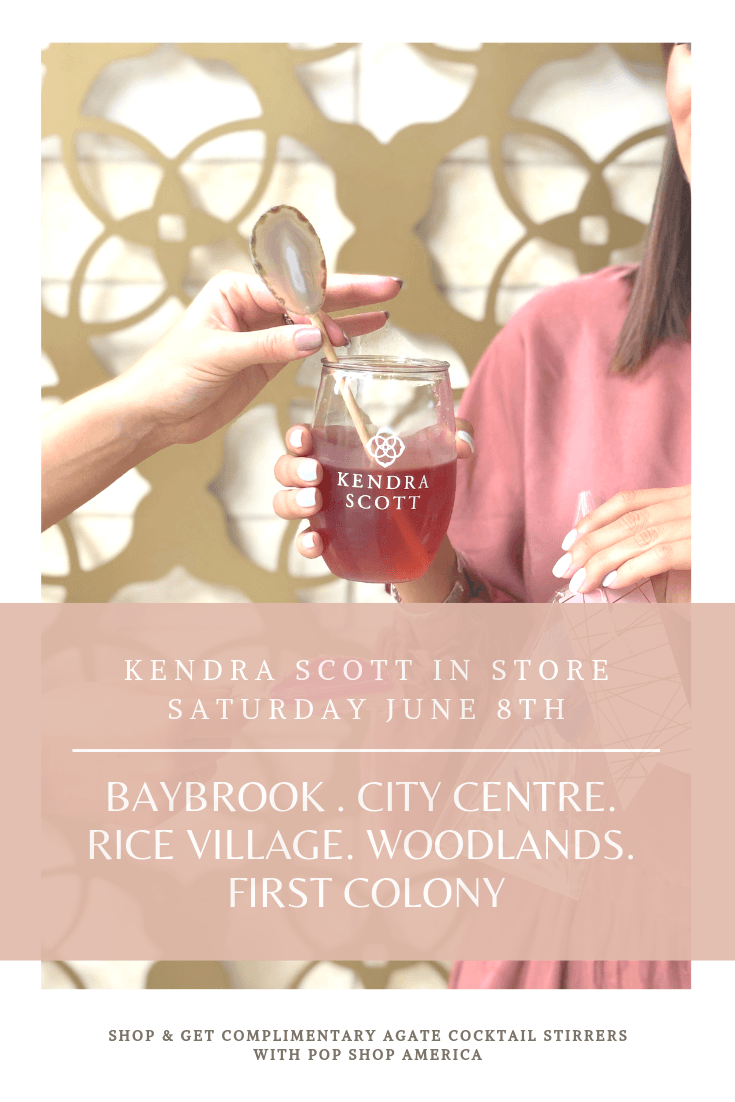 Kendra Scott In store Pop Shop America