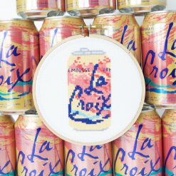 finished la croix embroidery - cross stitch kit