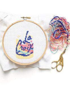 la croix cross stitch diy kit pop shop america