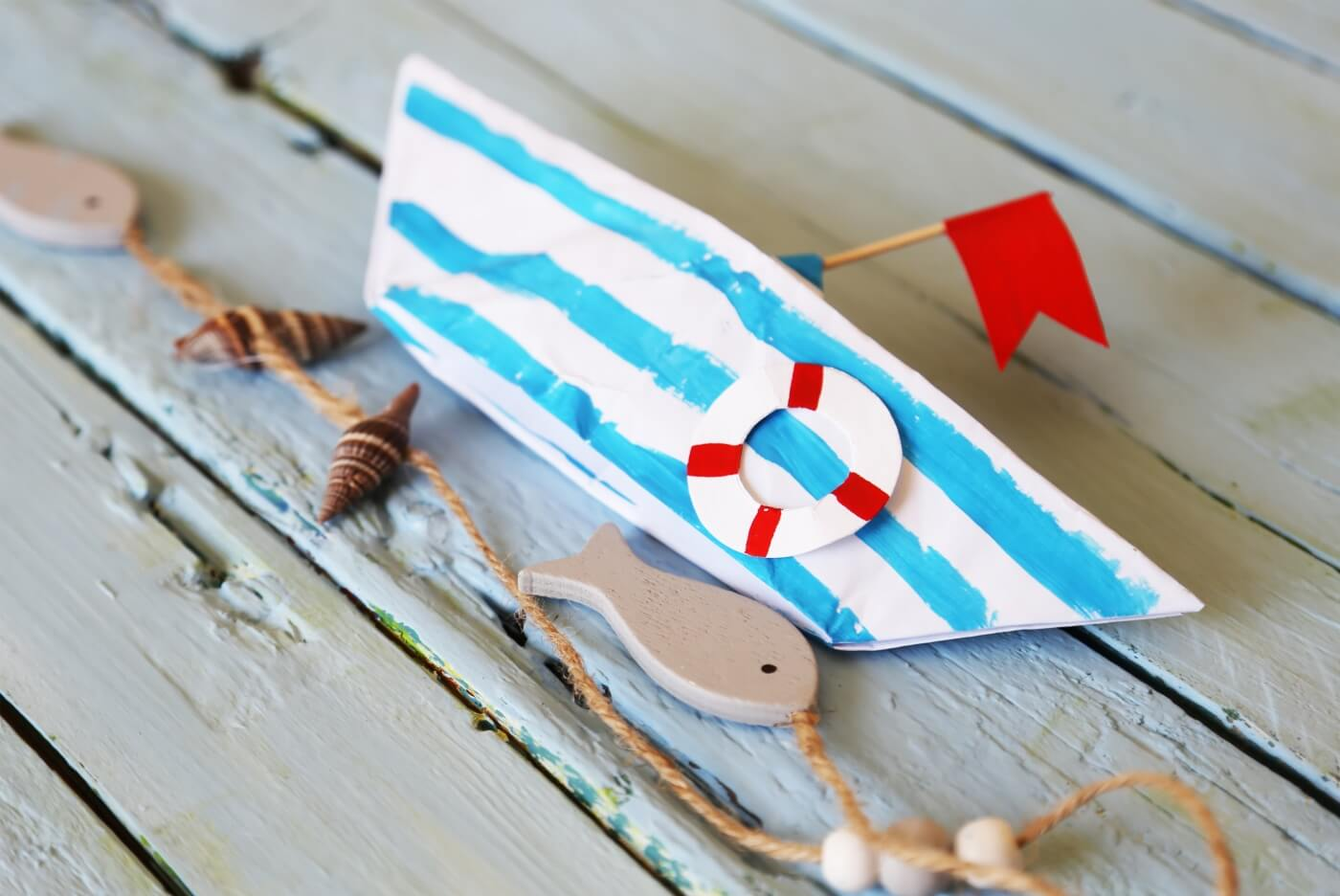 paper boat diy pop shop america craft tutorial