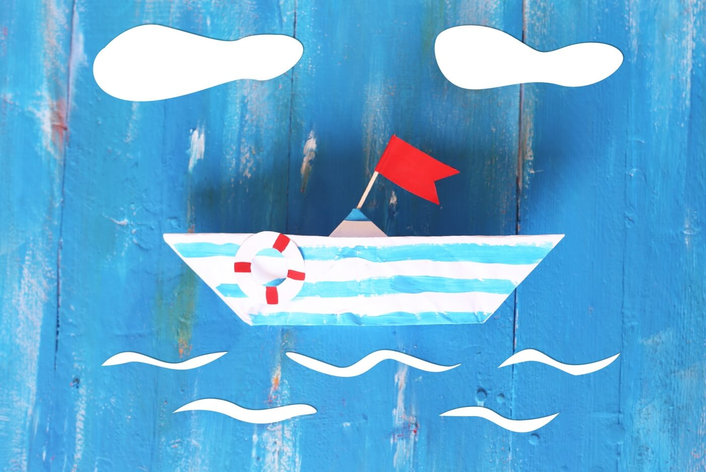 pop shop america how to make a paper boat tutorial