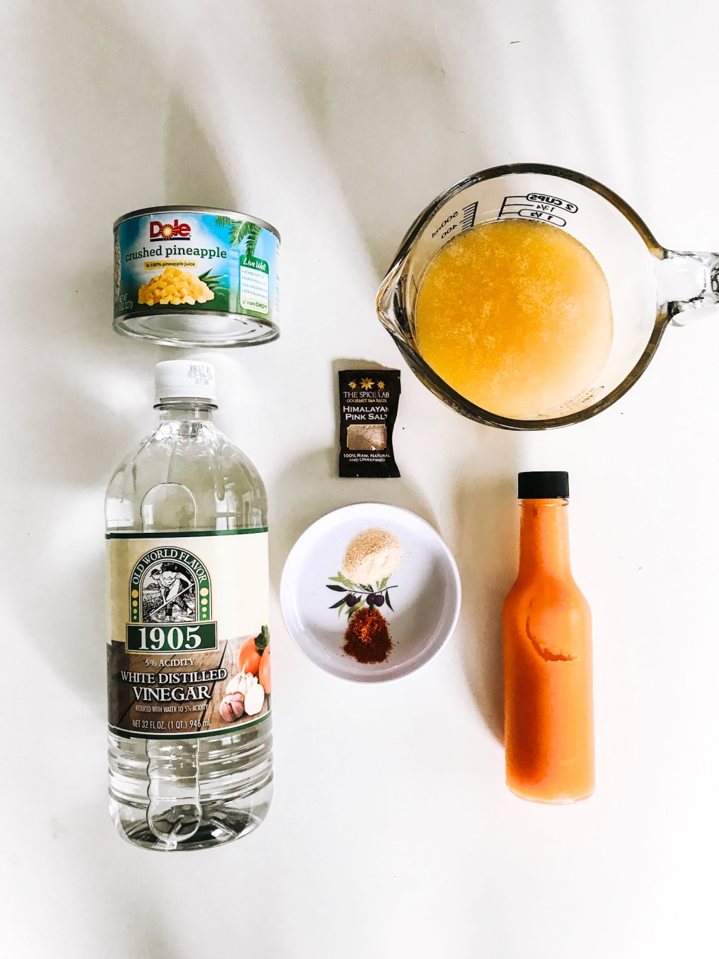 recipe ingredients for pineapple tropical hot sauce pop shop america