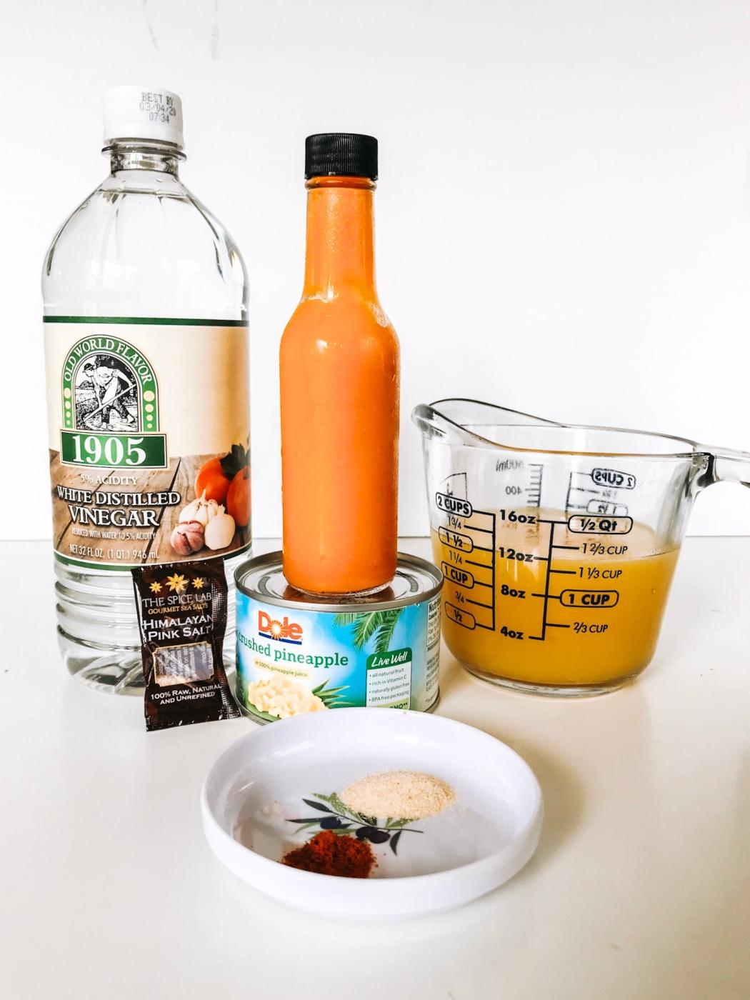 tropical pineapple hot sauce recipe pop shop america