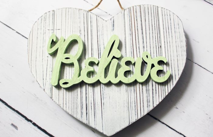 believe rustic white heart 2