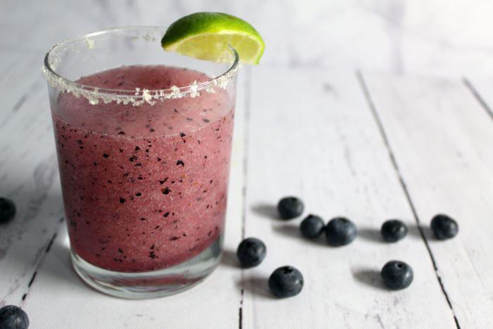 blueberry jalapeno limeade margarita