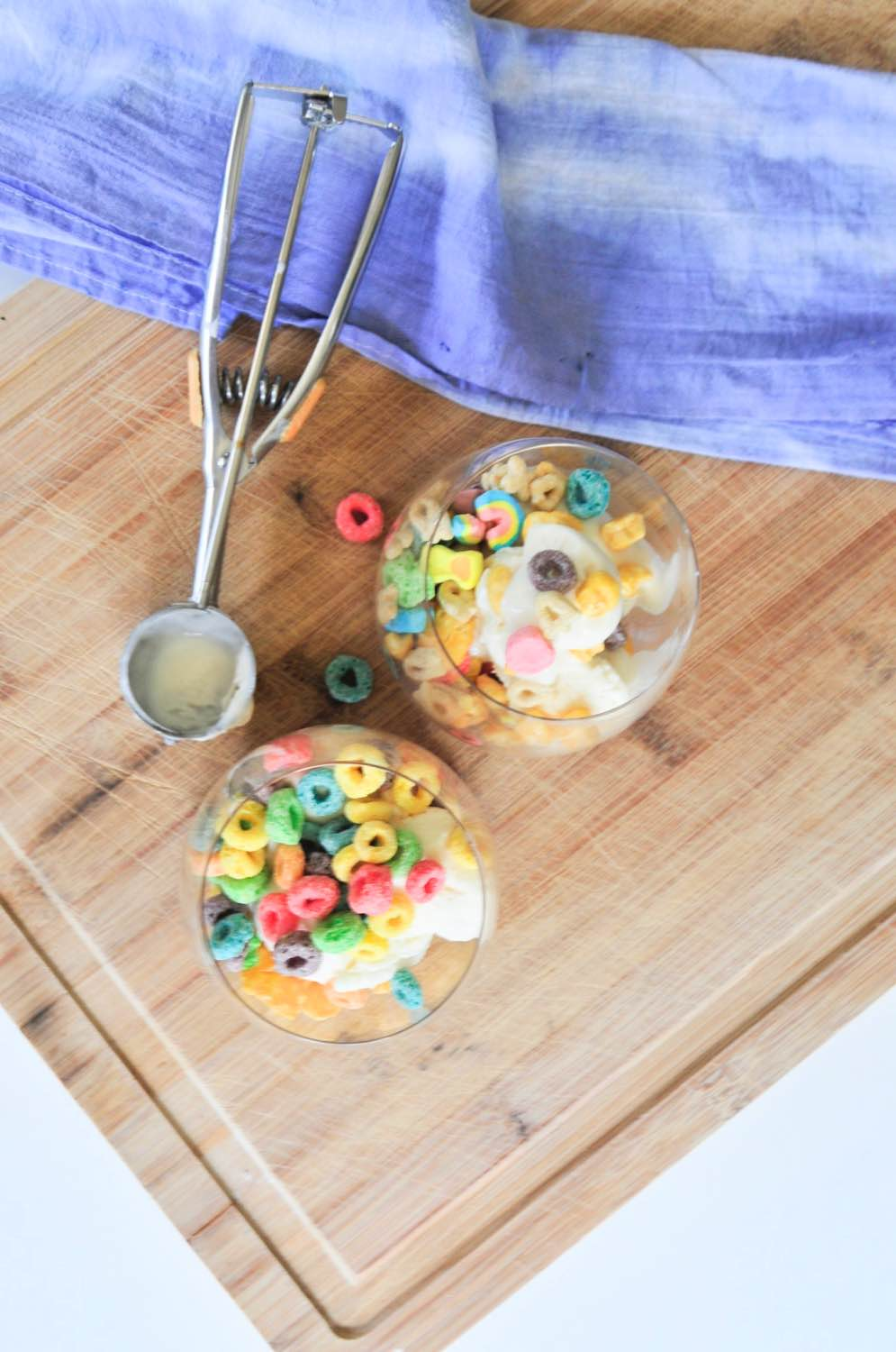 breakfast cereal frozen yogurt parfaits recipe pop shop america