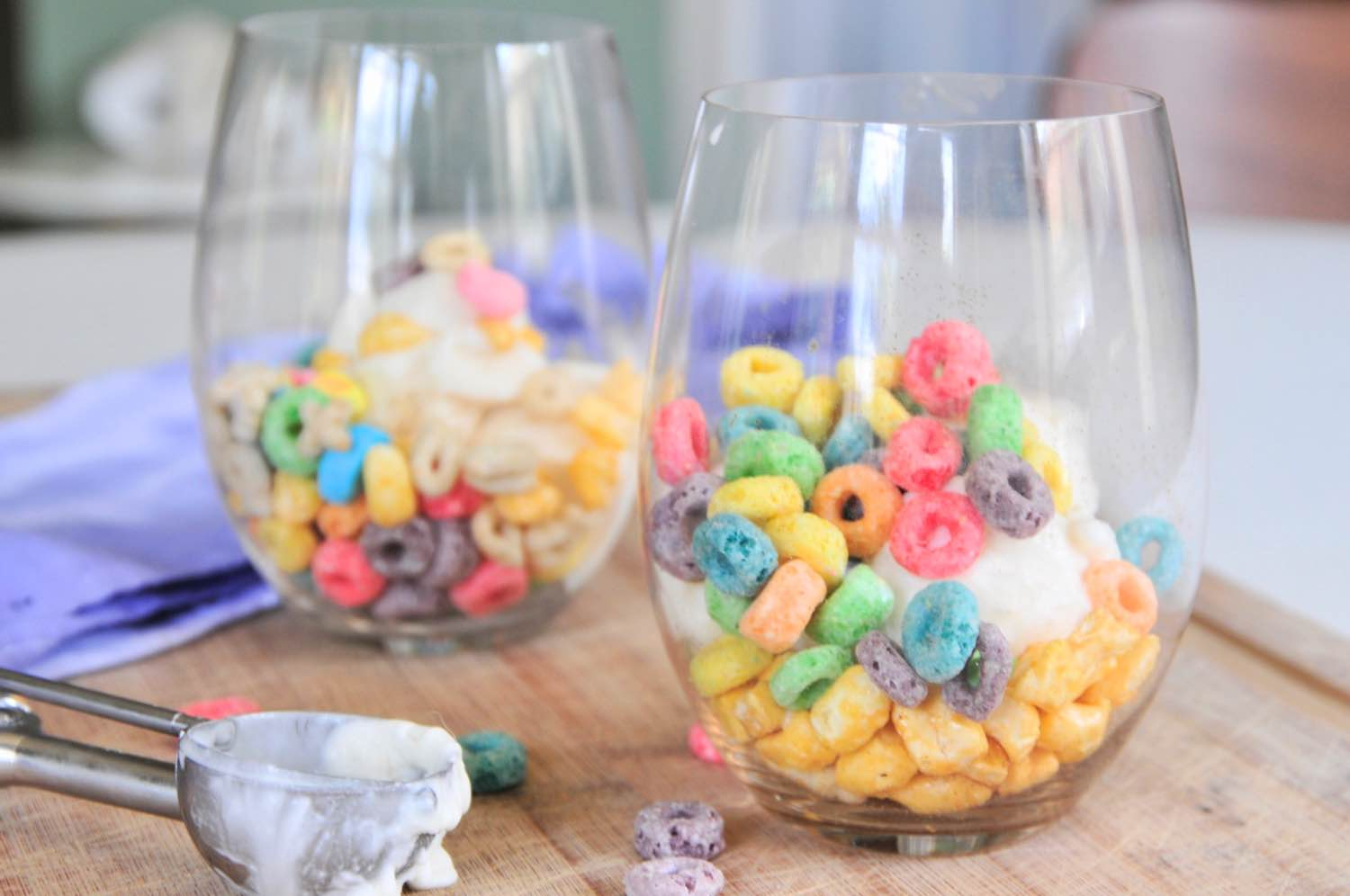 finished cereal frozen yogurt parfaits recipe pop shop america