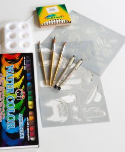 watercolor painting set art supplies pop shop america