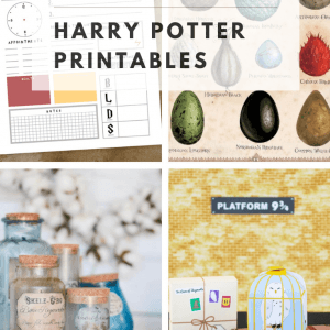 21 free harry potter printables pop shop america