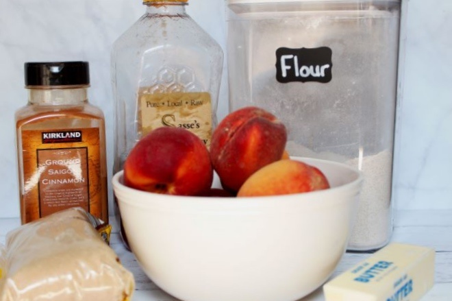 Bourbon-Honey-Vanilla-Peach-Crumble-Ingredients_straight