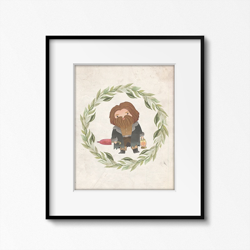 The-Cottage-Market-Harry-Potter-Art-Prints-Hagrid