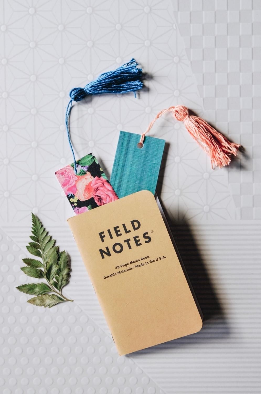 add a bookmark to a summer journal - pop shop america