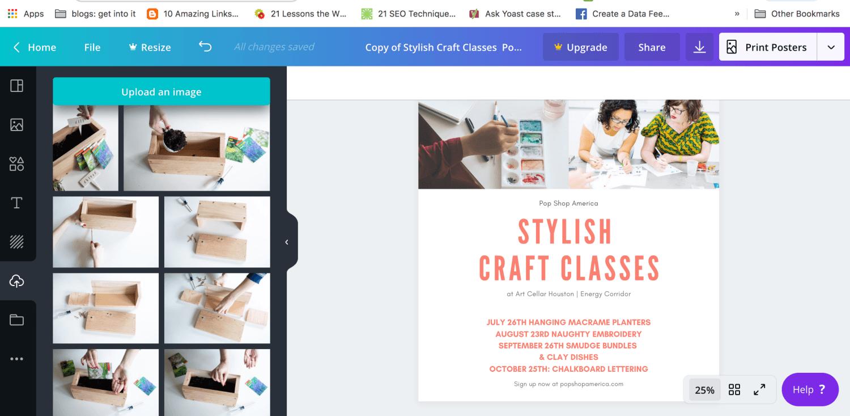 create your poster design marketing ideas pop shop america