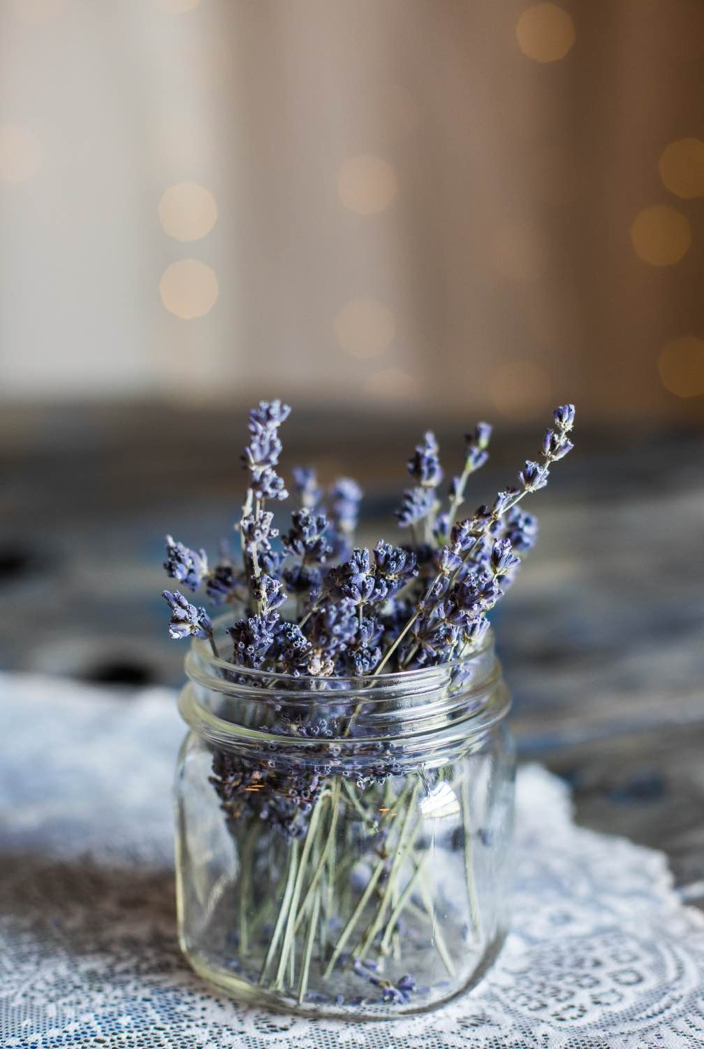 dried lavender bouquet in a mason jar flower inspiration pop shop america