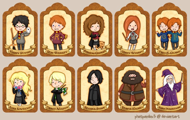 harry potter gift tag printables