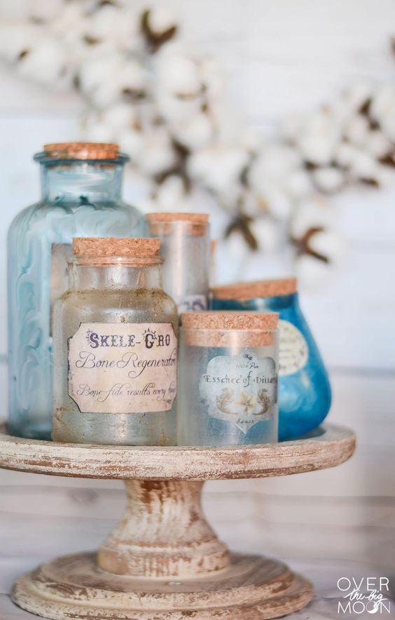 harry potter potion bottle labels diy