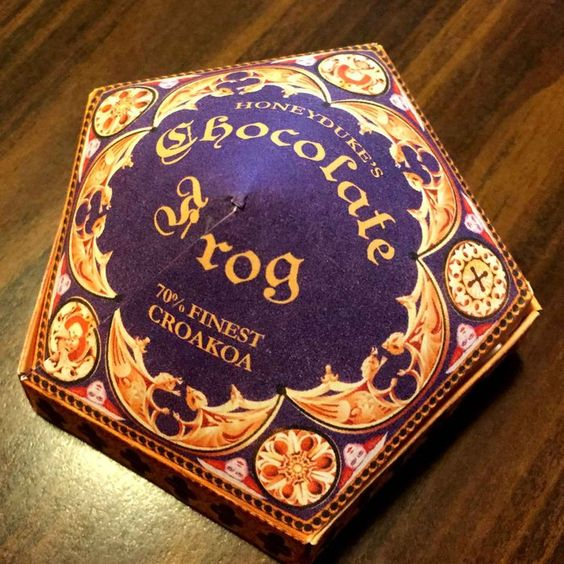 honeydukes chocolate frog free printable box harry potter