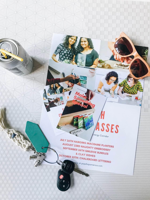marketing materials from office depot pop shop america