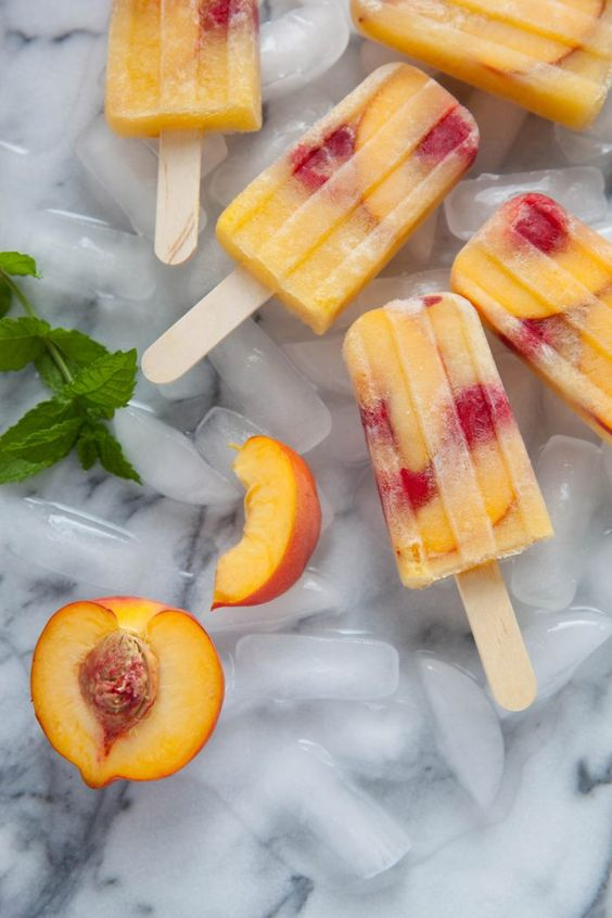 peach sangria popsicles recipe by everyday annie