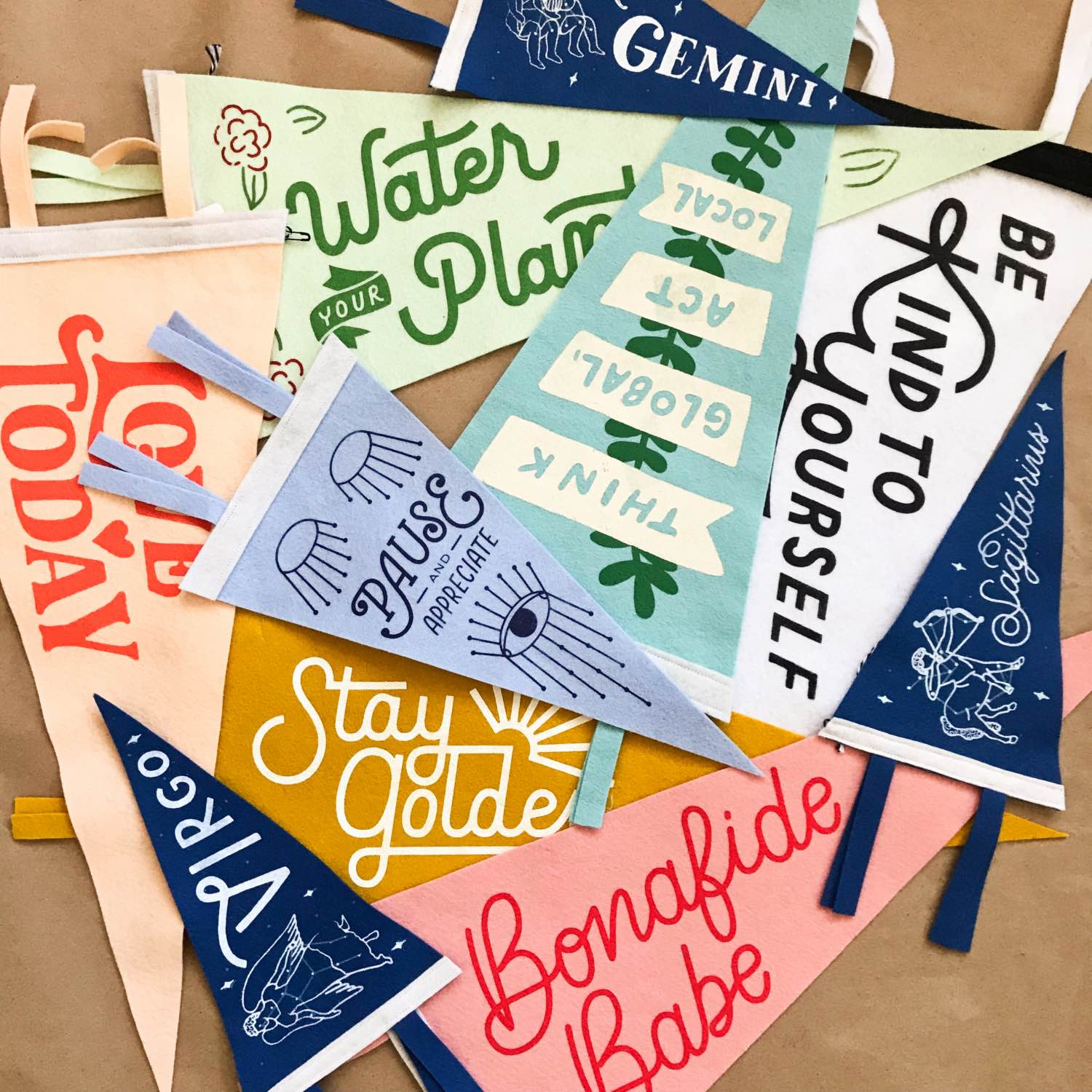 shop products from positive pennants pop shop america blog