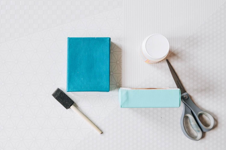 supplies to make a diy nursery art collage pop shop america