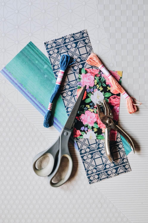 supplies to make a diy tassel bookmark pop shop america