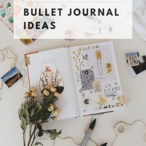 7 gorgeous fall bullet journal ideas