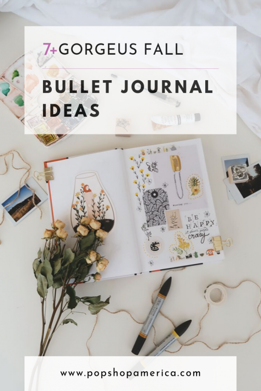 7 gorgeous fall bullet journal ideas