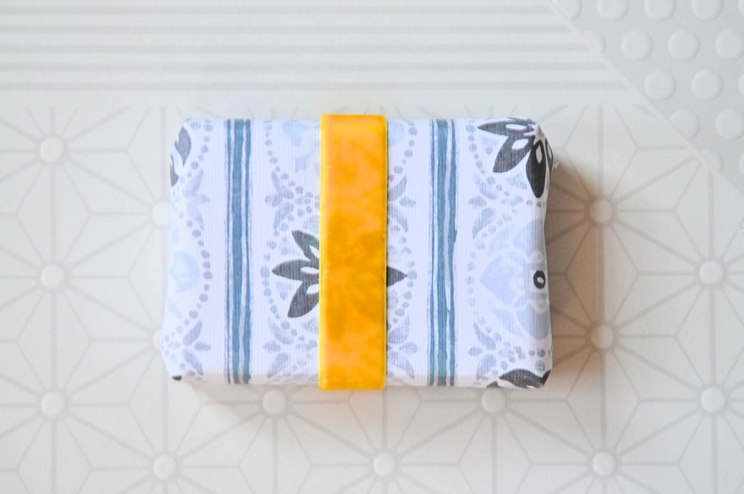 card stock and velvet ribbon diy wrapped soap pop shop america