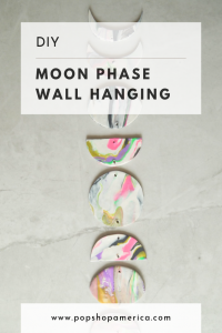 diy moon phase wall hanging pop shop america