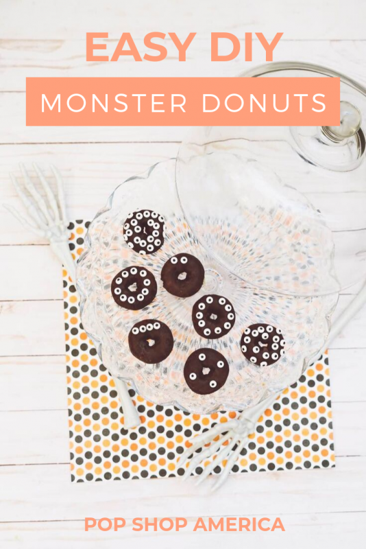 easy diy monster donuts pop shop america