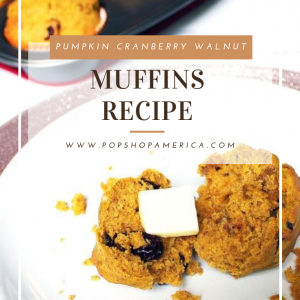 feature pumpkin cranberry walnut muffins recipe