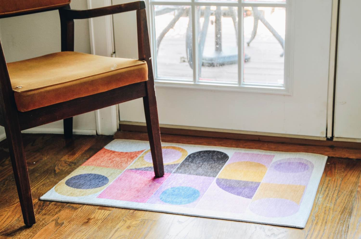 how to decorate with society6 abstract rug pop shop america