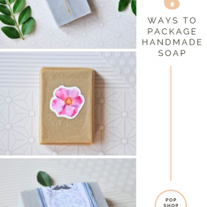 how to package handmade soap diy pop shop america