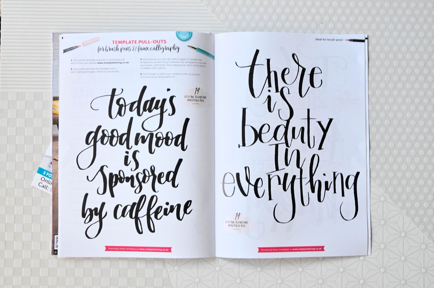 learn hand lettering art pop shop america diy blog