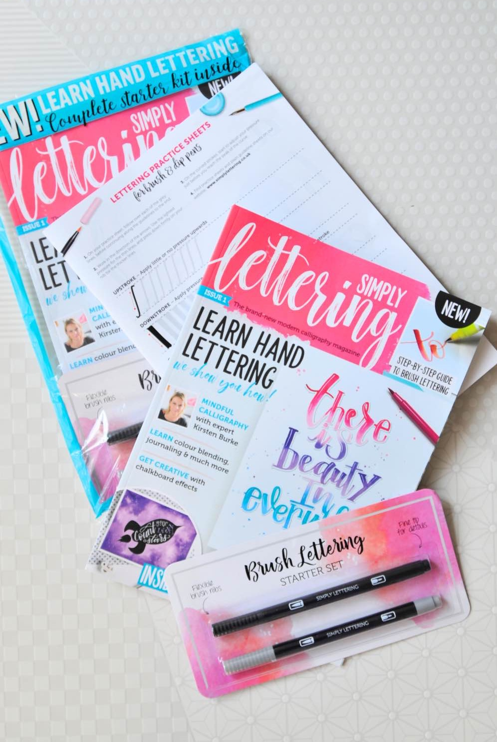 simply lettering magazine issue 1 pop shop america_update