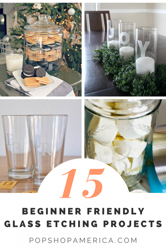 15 beginner friendly glass etching projects