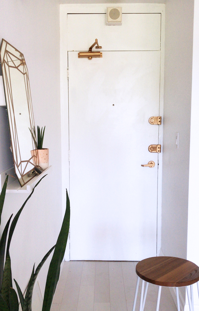 DIY Door Makeover