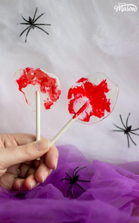Halloween-Bloody-Halloween-Lollipops-Recipe