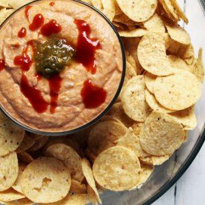 cheesy-spice-bean-dip-closeup-bowl-square