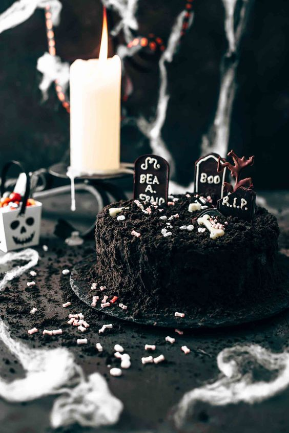 death by chocolate halloween cake
